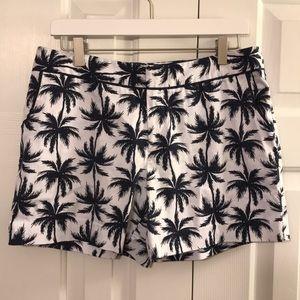 Cynthia Rowley Palm Tree Shorts
